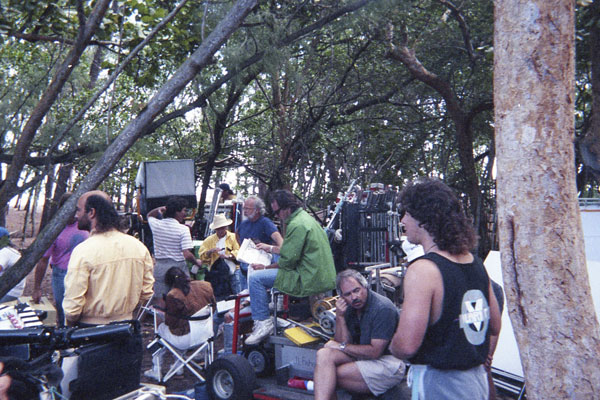 1991-The-100-Lives-of-Black-Jack-Savage-7-Crew-in-trees